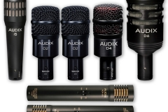 AUDIX DRUM MIC SET
