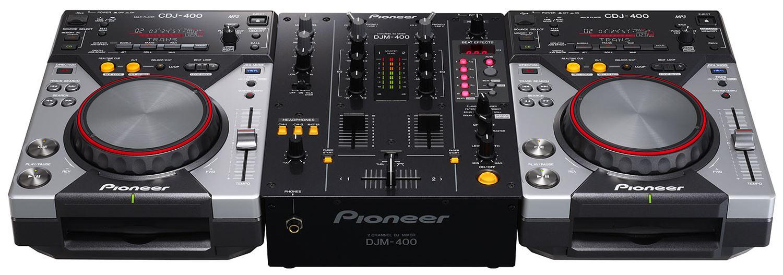 PIONEER CDJ400 SET